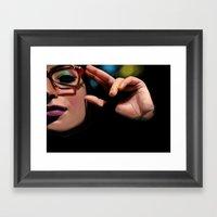 Beebo Framed Art Print
