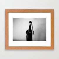 Elegant Dummy Framed Art Print