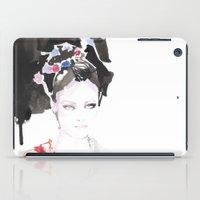 Watercolor Illustrations iPad Case