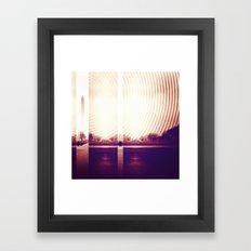 Signals Framed Art Print