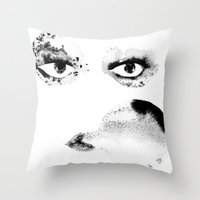 Portrait 7 Throw Pillow