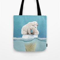 Polar Ice Cream Cap 02 Tote Bag