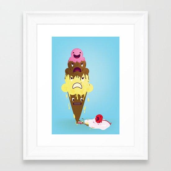 Cherry Dead Framed Art Print