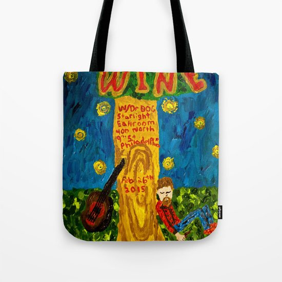 Iron and Wine  Tote Bag