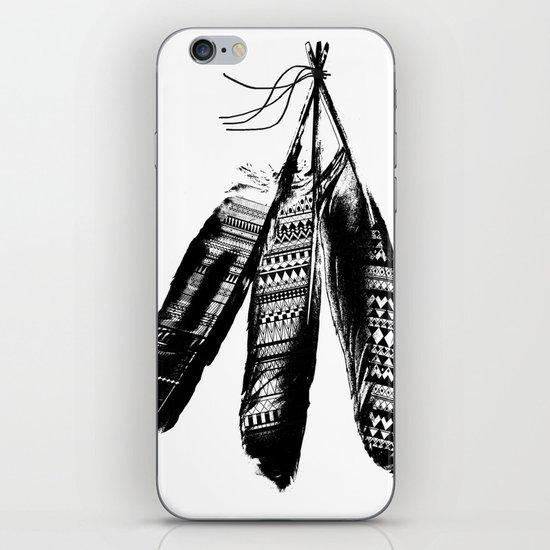 Tribal Feather Trio iPhone & iPod Skin