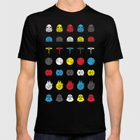 Balance In The Force Mens Fitted Tee Black SMALL