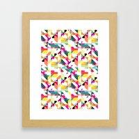 Aztec Geometric IV Framed Art Print