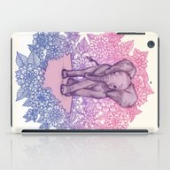 Cute Baby Elephant In Pi… iPad Case