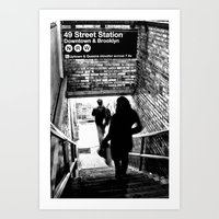 49th Street Station Art Print