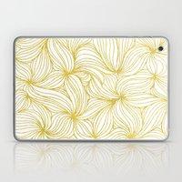 Golden Doodle Floral Laptop & iPad Skin