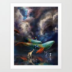 Night II - Dreamwalker Art Print