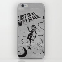 Lost In My Happy Space, … iPhone & iPod Skin
