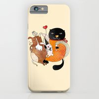 iPhone & iPod Case featuring Celebrate Animals by Kristina Sabaite