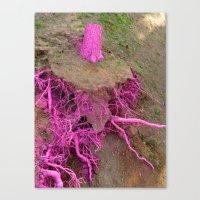 pinkiss dead Canvas Print