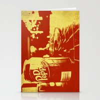 Pop Dr. Pepper Stationery Cards