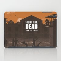 The Walking Dead Prison Walkers iPad Case