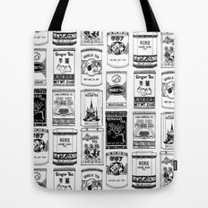 chinese teabox collection Tote Bag