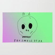 YOU SMELL BAD Rug