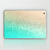GOLD AQUA Laptop & iPad Skin