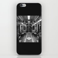 New York Subway Car iPhone & iPod Skin