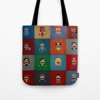 Screaming Heroes Tote Bag