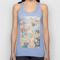 Elephant football game Unisex Tank Top