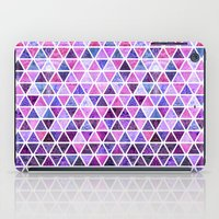 Berry Purples - Triangle… iPad Case