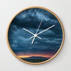Salt Lake Sky Wall Clock