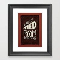 The Rug Framed Art Print