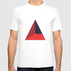 SKYCORNER White SMALL Mens Fitted Tee