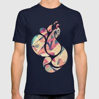 Peacocks Mens Fitted Tee Navy SMALL