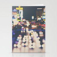 Las Vegas ... the neon town!  Stationery Cards