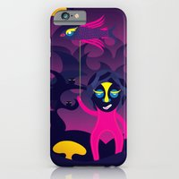 iPhone & iPod Case featuring Night of the forest spirit by sudarshana