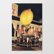 The big lemon Canvas Print