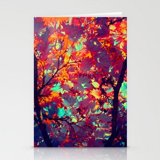 autumn tree X Stationery Card