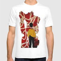 Graffiti Transformer Mens Fitted Tee White SMALL