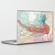 Laptop & iPad Skin featuring Jellyfish by Mat Miller