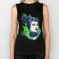 Maleficent Biker Tank