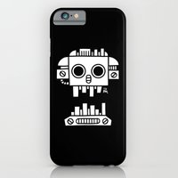 iPhone & iPod Case featuring Mechanical Jolly Roger - PM by Pascal Mabille (PM)