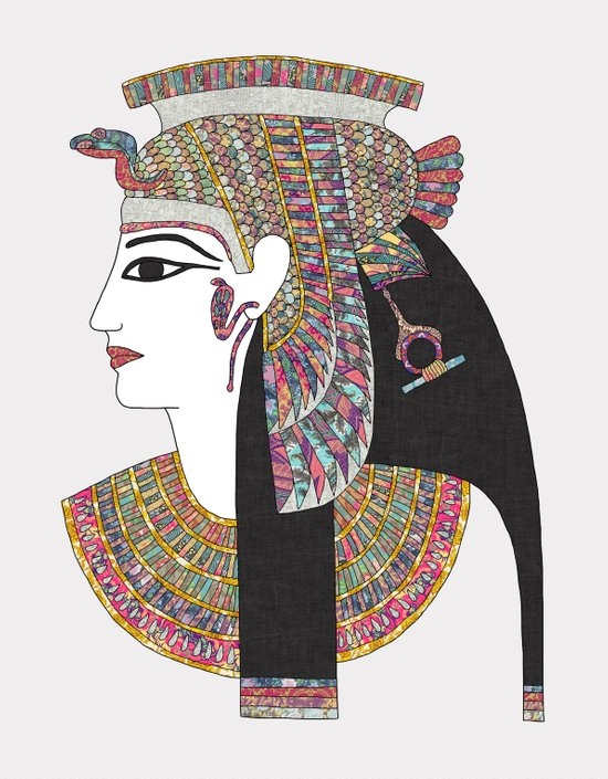 EGYPTIAN GODDESS Canvas Print