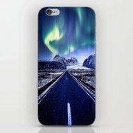 Road To Aurora  iPhone & iPod Skin