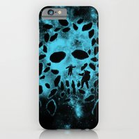 iPhone & iPod Case featuring Death Space by pigboom el crapo