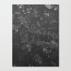 Fading Molecules Canvas Print