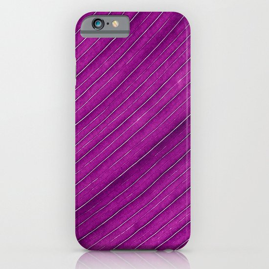 purple banana leaf iPhone & iPod Case