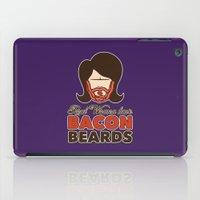 Bacon Beard (women's version) iPad Case