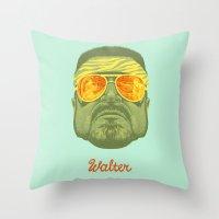 The Lebowski Series: Walter Throw Pillow