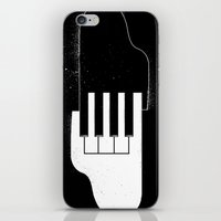 Music Hands iPhone & iPod Skin