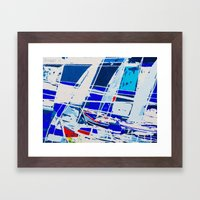 0040-SAILS 1010 Framed Art Print