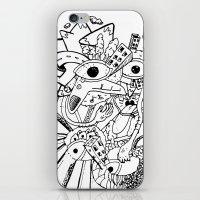 Cara de Sociedad iPhone & iPod Skin
