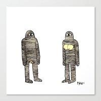Mummies Canvas Print